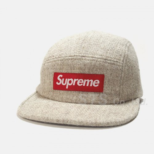 Supreme - Harris Tweed Camp Cap