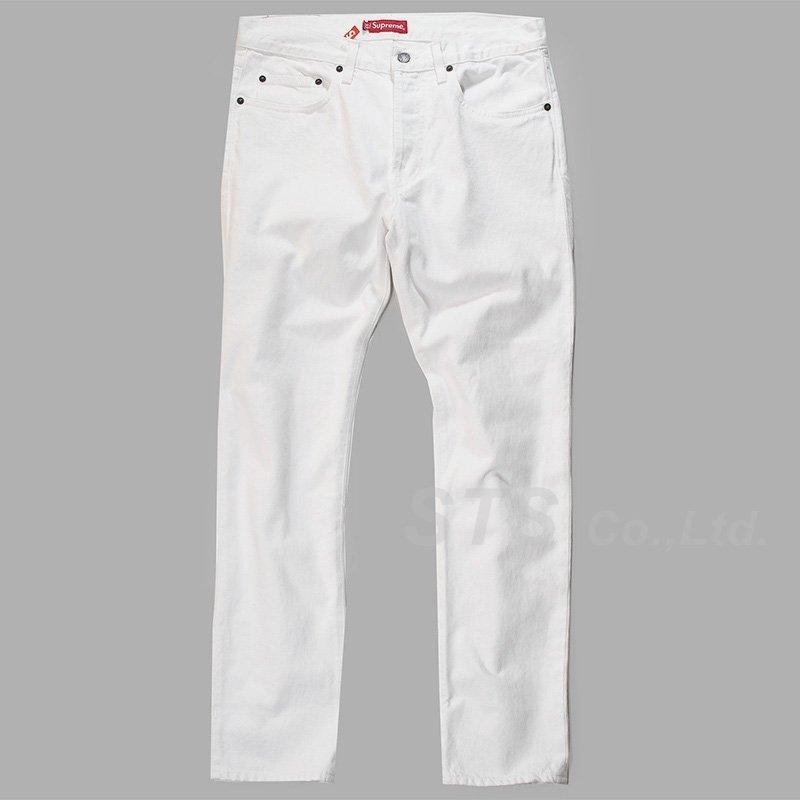 Supreme - White Slim Jean