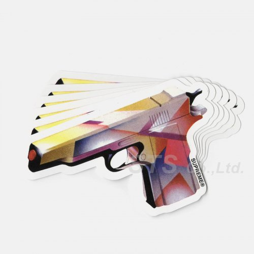 Supreme - Mendini Gun Sticker