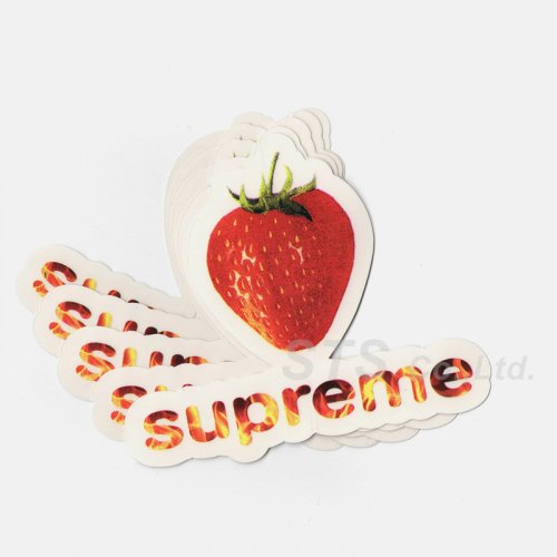 Supreme - Berry Sticker