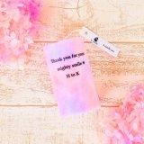 メッセージが入れられるアロマキャンドル【ラベンダーの香り】【プレゼント・ギフトにおすすめ】(10047)