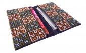 モン刺繍の両面ポケットのカードケース(PBj)
