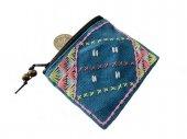 カレン刺繍のコインケース(AqY)