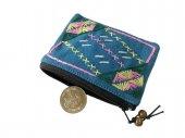 カレン刺繍のコインケース(AqPY)