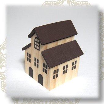 ミニチュアハウス(茶屋根)