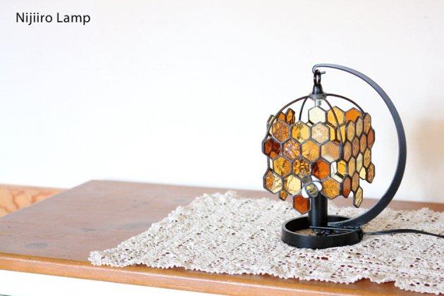 テーブルランプ Honeybee umber ミツバチ アンバー【画像12】
