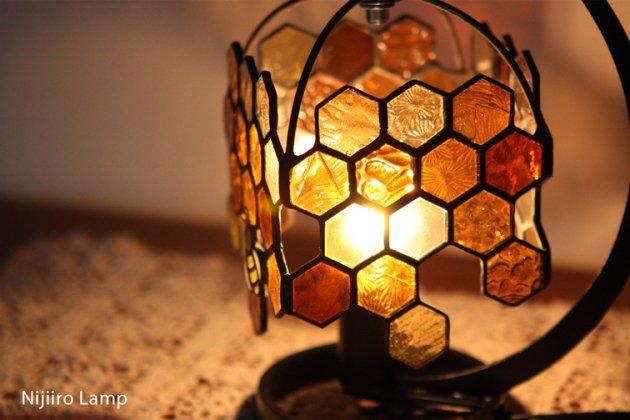 テーブルランプ Honeybee umber ミツバチ アンバー【画像8】