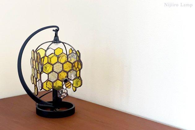 テーブルランプ Honeybee yellow ミツバチ イエロー【画像11】