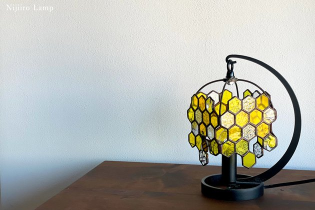 テーブルランプ Honeybee yellow ミツバチ イエロー【画像9】