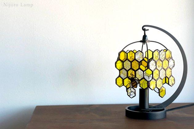 テーブルランプ Honeybee yellow ミツバチ イエロー【画像10】