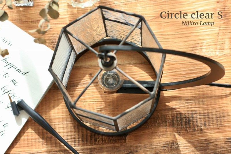 テーブルランプ Circle clear サークル クリアーS【画像5】