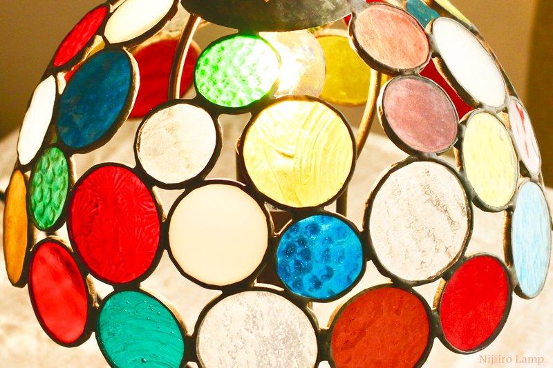 テーブルランプ Nijiiro Bowl colorful ニジイロボウル カラフル【画像8】