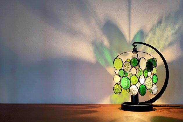 テーブルランプ Nijiiro drops green ニジイロドロップスグリーン【画像2】