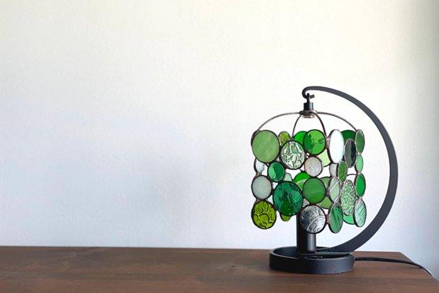 テーブルランプ Nijiiro drops green ニジイロドロップスグリーン【画像8】