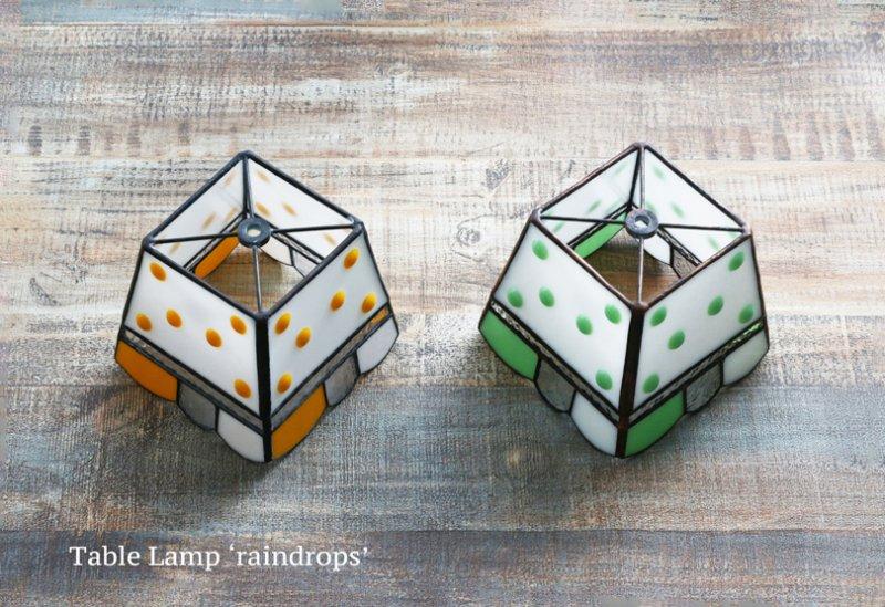 テーブルランプ raindrop lime  レインドロップ ライム【画像9】