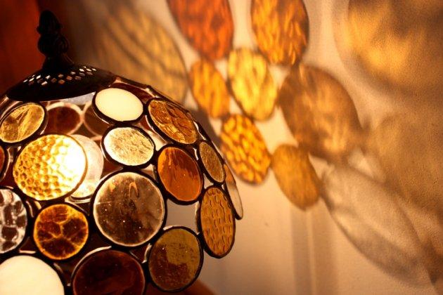 テーブルランプ Nijiiro Bowl amber ニジイロボール アンバー【画像4】