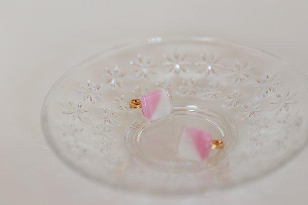 イヤリング Gelee deux coral pink〔ジュレ ドゥ コーラルピンク〕【画像4】