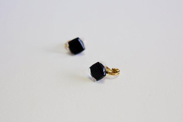 イヤリング Gelee  black S〔ジュレ ブラック S〕【画像3】