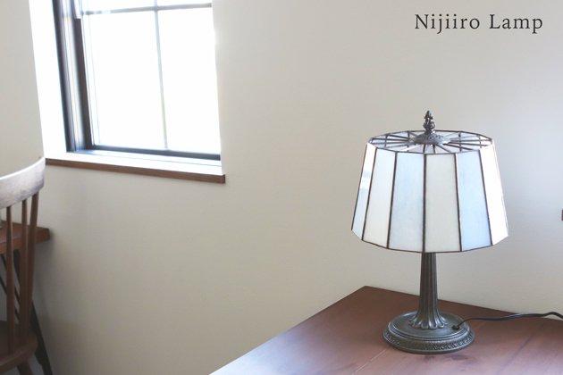 テーブルランプ Pleats milkywhite プリーツ ミルキーホワイト【画像11】