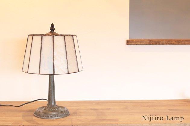 テーブルランプ Pleats milkywhite プリーツ ミルキーホワイト【画像12】