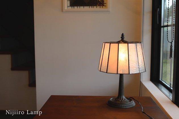 テーブルランプ Pleats milkywhite プリーツ ミルキーホワイト【画像3】
