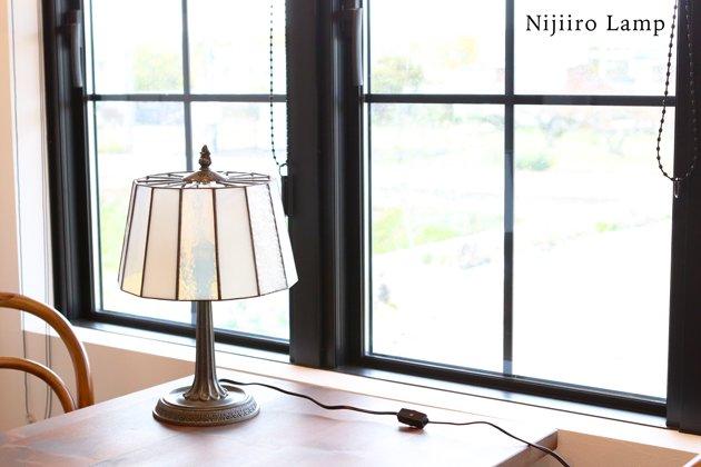 テーブルランプ Pleats milkywhite プリーツ ミルキーホワイト【画像8】