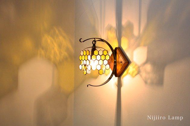 ブラケットランプ Honeybee yellow ミツバチ イエロー【画像2】