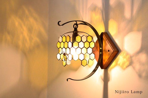 ブラケットランプ Honeybee yellow ミツバチ イエロー【画像4】