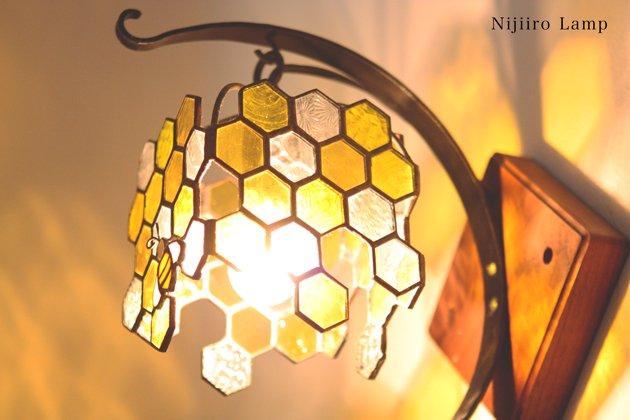 ブラケットランプ Honeybee yellow ミツバチ イエロー【画像7】