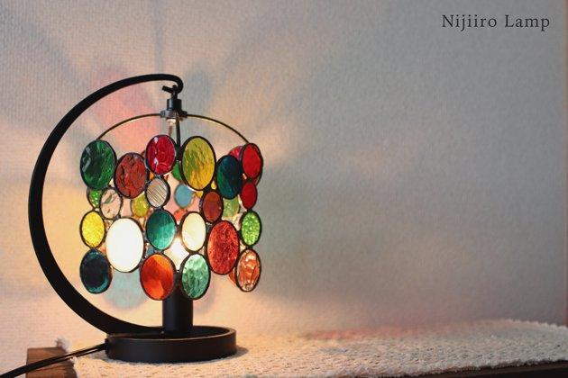 テーブルランプ Nijiiro drops ニジイロドロップス【画像7】