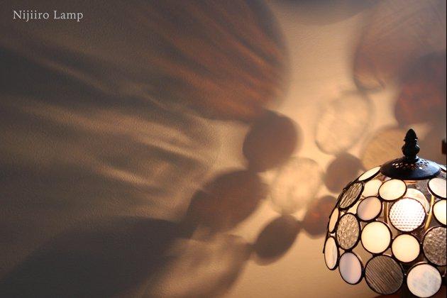 テーブルランプ Nijiiro Bowl white ニジイロボウル ホワイト【画像6】