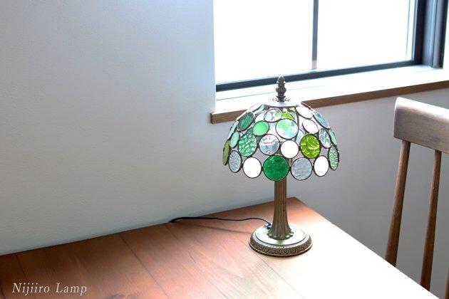 テーブルランプ Nijiiro bowl green ニジイロボウル グリーン【画像12】