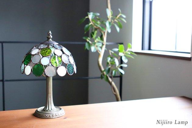 テーブルランプ Nijiiro bowl green ニジイロボウル グリーン【画像13】