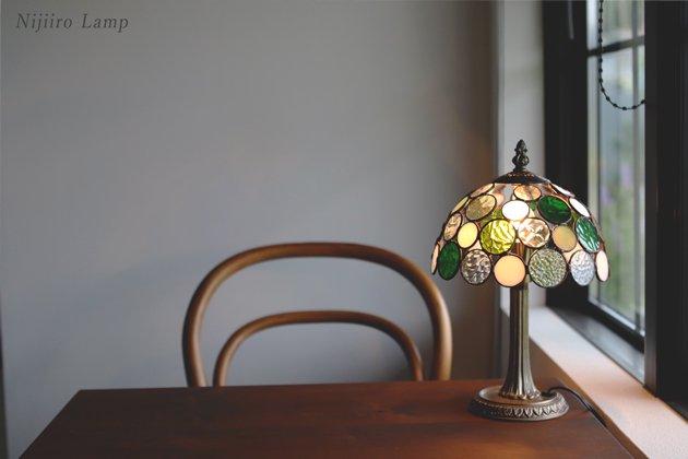 テーブルランプ Nijiiro bowl green ニジイロボウル グリーン【画像6】