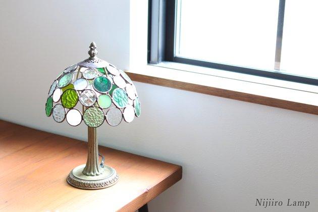 テーブルランプ Nijiiro bowl green ニジイロボウル グリーン【画像9】