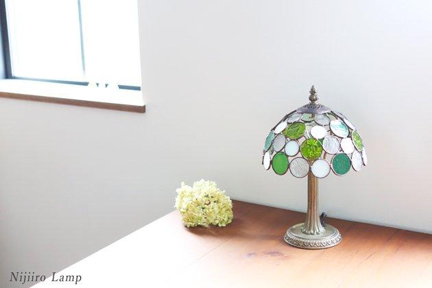 テーブルランプ Nijiiro bowl green ニジイロボウル グリーン【画像10】