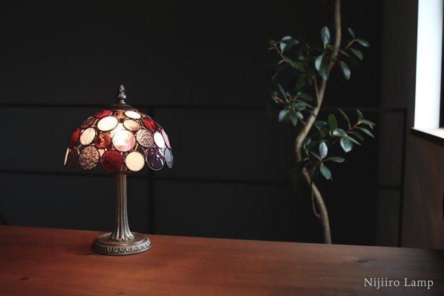 テーブルランプ Nijiiro Bowl berry ニジイロボウル ベリー【画像5】