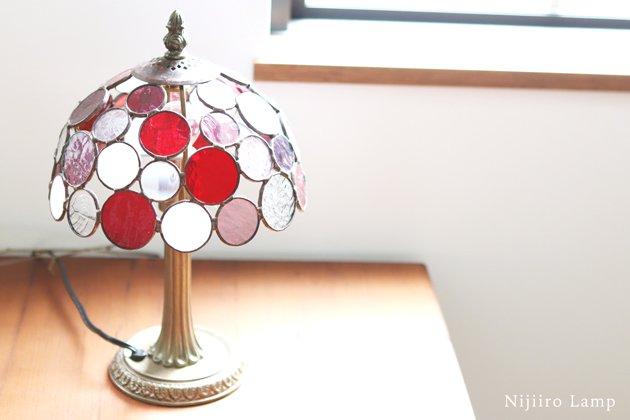 テーブルランプ Nijiiro Bowl berry ニジイロボウル ベリー【画像9】