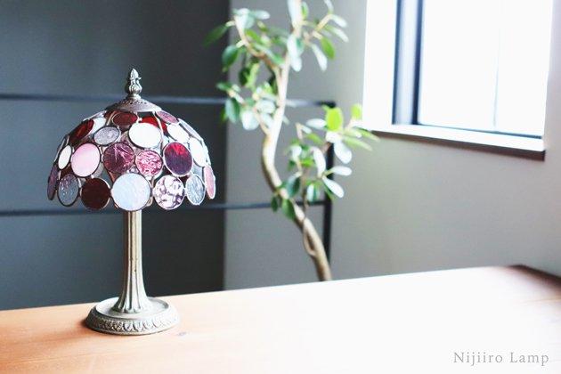 テーブルランプ Nijiiro Bowl berry ニジイロボウル ベリー【画像10】