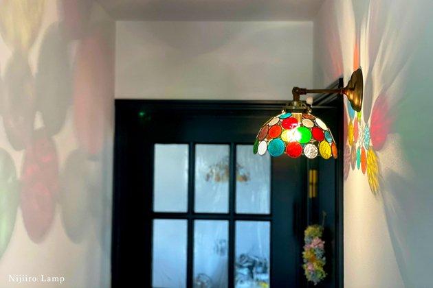 ブラケットランプ Nijiiro bowl colorful ニジイロボール カラフル 屋内用【画像3】