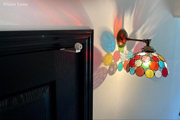 ブラケットランプ Nijiiro bowl colorful ニジイロボール カラフル 屋内用【画像4】