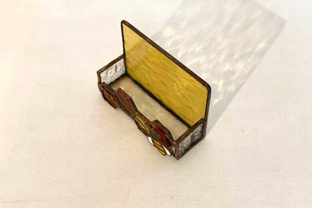 Card holder Honeybee amber カードホルダー ミツバチ アンバー【画像3】