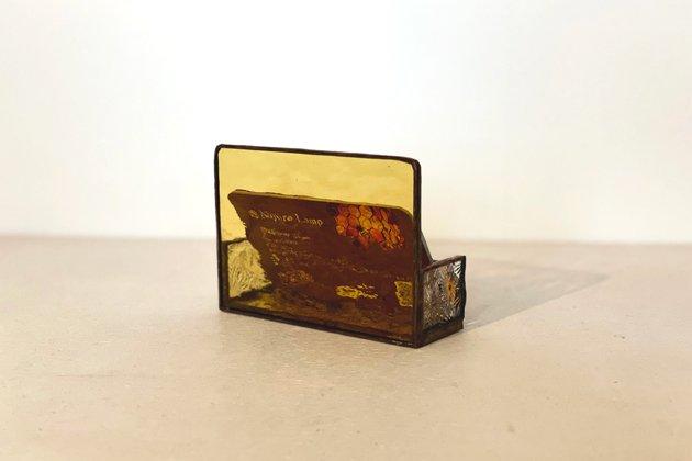 Card holder Honeybee amber カードホルダー ミツバチ アンバー【画像9】