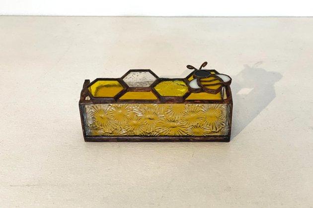 Card holder Honeybee yellow カードホルダー ミツバチ イエロー【画像5】