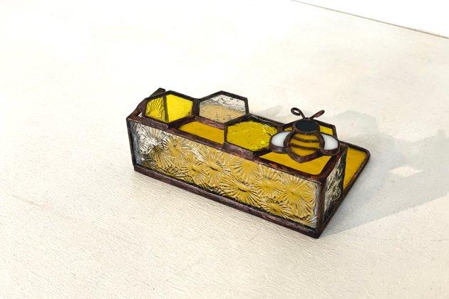Card holder Honeybee yellow カードホルダー ミツバチ イエロー【画像6】