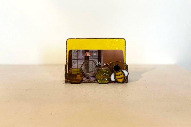 Card holder Honeybee yellow カードホルダー ミツバチ イエロー【画像7】