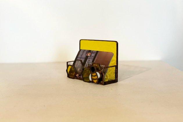 Card holder Honeybee yellow カードホルダー ミツバチ イエロー【画像8】