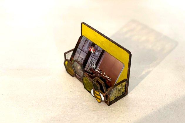 Card holder Honeybee yellow カードホルダー ミツバチ イエロー【画像9】