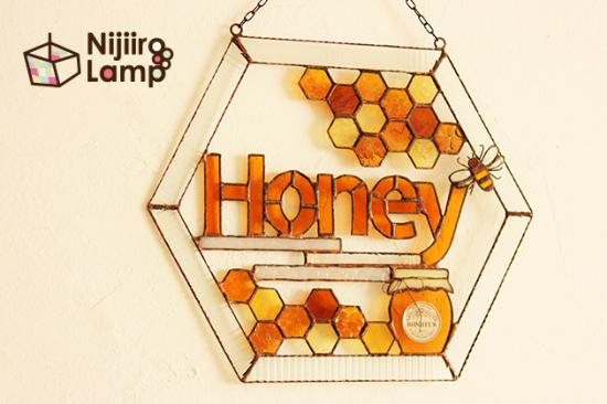 サインボード Honey ハニー【画像2】