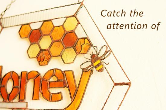 サインボード Honey ハニー【画像3】